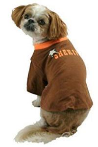 SHERIFF Law Enforcement Glow in Dark DOG T-SHIRT S XS M L XL