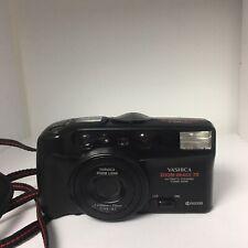 Yashica Kyocera Zoom Image 70 AF Power Zoom 35mm Camera & Strap