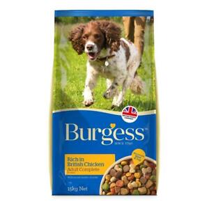 Burgess Supadog Chicken Complete Adult Dog Food 15kg with FREE NEXT DAY DELIVERY