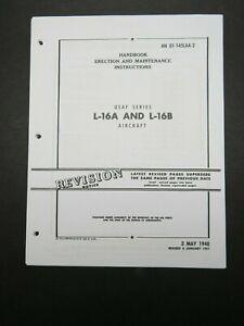 1948-51 Air Force Aeronca L-16 A/B Champ Erection & Maintenance Manual