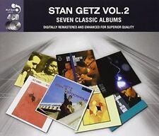 "Stan Getz, [4 cd set]  ""7 Classic Albums, Vol. 2""   (CD, Jul-2014)"