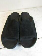 Merrell Treviso Midnight Black Suede Wide Strap Slides Women's Shoes 8 EU 39