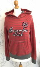 Abercrombie & Fitch Hoodie Red Hoodies & Sweatshirts for Women