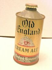 Old English Cone Top Beer Can, Derby Conn, with Cap, Breweriana