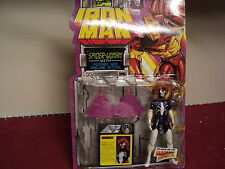 "Toy Biz Iron Man Spider woman 5""  with accessories   1994 production"