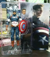 Marvel The Avengers 2 Age of Ultron Captain America Action Figures Box Packed