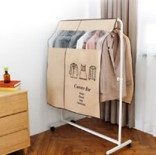 Standing Hanger Cover Brown Anti Dust Protector Decoration Dress Display