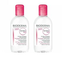 Bioderma Sensibio H2O Solution 250ml x 2 Twin Pack Make Up Remover Skin Face