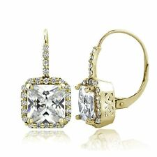 Unbranded Cubic Zirconia Brass Costume Earrings