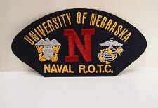 2 University of Nebraska Naval ROTC patches patch R.O.T.C. memorabillia New