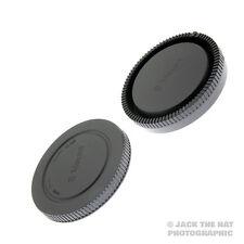 Sony E-Mount Body Cap & Rear Lens Cap Set for all NEX/ Mirrorless Cameras/Lenses