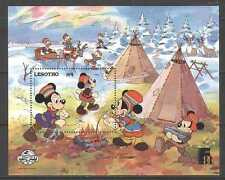 Lesotho 1988 Disney/Mickey/Finlandia m/s vfu (n21772)