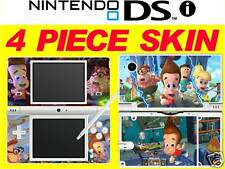 nintendo NDSi DSi original - JIMMY NEUTRON - 4 Piece - Sticker Skin UK