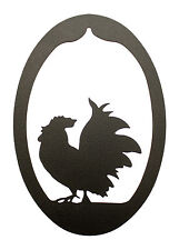 Rooster Wall Hanging Decor - Chicken Plaque