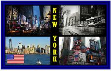 NEW YORK, USA - NEGOZIO DI SOUVENIR MAGNETE DEL FRIGORIFERO UN BEL