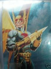 Hawkman Spectra Etch Foil Card (Dc Master Series Cards)