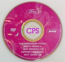 FORD LINCOLN NAVIGATION MAP DVD VERSION 11P NORTH AMERICA 9G1T10E987DA