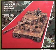 Verlinden 1/15 Tiger I Ausf.E Sd.Kfz.181 Final Ver. Kit# 863 w/ Zimmerit Kit 864