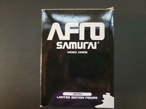 Afro Samurai Video Game Limited Edition Figure in box - Afro