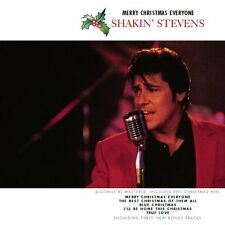 SHAKIN' STEVENS: MERRY CHRISTMAS EVERYONE CD XMAS COLLECTION 3 BONUS TRACKS NEW