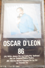 OSCAR D'LEON 86 - Cassette New! Sealed! TH