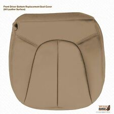 2001 2002 Ford Expedition XLT Driver Bottom Leather Seat Cover TAN