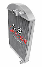 3 Row Ace Champion Radiator for 1939 Chevrolet Master 85 Chevy V8 Conversion