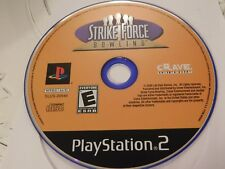 Strike Force Bowling (Sony PlayStation 2, 2004)Disc Only Free Shipping