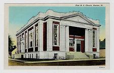 Marion Illinois First M. E. Church