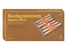 """BACKGAMMON 10"""" MAGNETIC GAME BOARD TRAVEL PUZZLE NOVELTY TOY KIDS BRAIN HOBBY"""