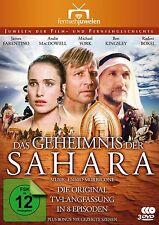Das Geheimnis der Sahara, KOMPLETT, Original Langfassung,3 DVD Set NEU + OVP!