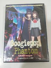 BOOGIEPOP PHNATOM EDICION INTEGRAL 12 EPISODIOS - 6 X DVD + EXTRAS ANIME