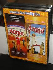 Annie / Annie:Royal Adventure (DVD) 2-Disc Set! Albert Finney, Joan Collins, NEW