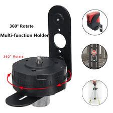 Laser Level Magnet Adsorb L-Bracket+360°Rotate Disc+Tripod Conversion Head Stand