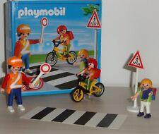 Playmobil - 4328 - Agent de sécurité et écoliers - Prévention Routière + boite