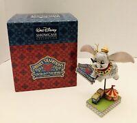 Walt Disney Showcase Collection FAITH IN FLIGHT Dumbo Jim Shore Fugurine NIB!