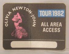 Olivia Newton-John - Vintage Original Cloth Tour Concert Backstage Pass
