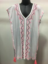 Girls  Kaftan White Lovingly made with 1st Quality Rayon Perfect for Ages 5-8yrs