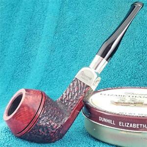 UNSMOKED NEW! Peterson's XL13 STERLING SILVER SPIGOT BULLDOG IRISH Estate Pipe