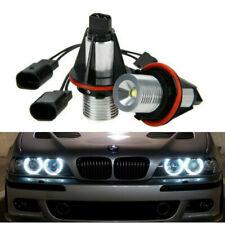 2X Angel Eyes Halo LED Lights Bulb For BMW E39 E87 E60 E63 E65 E66 E53 X5 E83