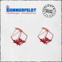 SOMMERFELDT 822 coppia pantografi FS tipo 52 - 1/87