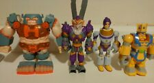 LT Kingdom Builders Figure Lot- JJ O'Hammer, Lady Twist, King Hex, Crow DeBar