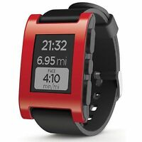 Pebble Classic Smartwatch - Red Brand New Sealed