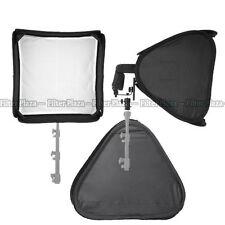 "PRO Portable 32""/80cm Softbox For SpeedLight Flash Hot Shoe Soft Box Kit 80x80cm"