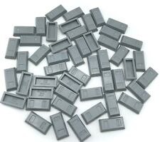 Lego 50 New Light Bluish Gray Minifigure Utensil Ingot Bar Pieces