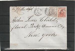 Haiti Port-au-Prince COVER TO New York USA 1895