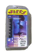 """Jiffy Ice Auger 8"""" Ripper replacrment Blade Kit genuine Oem. New 3538"""