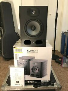 Focal Alpha 65 Powered Studio Monitor active reference speakers flat response