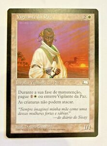 MTG  PEACE KEEPER, WEATHERLIGHT  - PORTUGUESE
