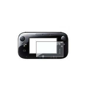 Screen Protectors for Nintendo Wii U x 2 -Plastic Screen Protection Wii U 2 Pack